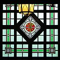 Cathedral of Saint Paul (St. Paul, Minnesota) - stained glass, Chi Rho.jpg