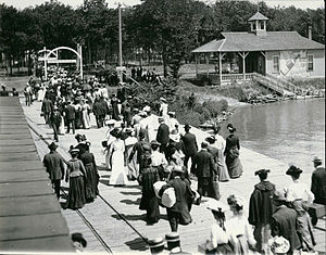 Cedar Point - Cedar Point in the 1890s