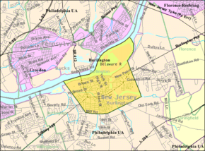 Census Bureau map of Burlington, New Jersey.png