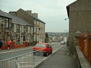Llanllyfni - Image: Central Llanllyfni geograph.org.uk 141328