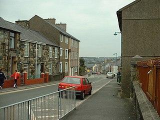 Llanllyfni Human settlement in Wales