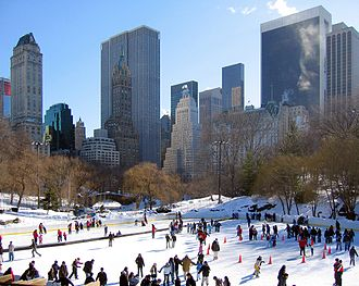 Donald Trump - Central Park's Wollman Rink after the Trump renovation