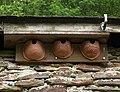 Ceramic house martin bowls - geograph.org.uk - 1899830.jpg