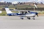 Cessna 177 Cardinal (VH-DZI) taxiing at Wagga Wagga Airport.jpg