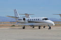 Cessna Citation Excel 'N97EM' (13996554312).jpg