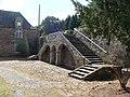 Château de Coëtbo Grand escalier extérieur.JPG
