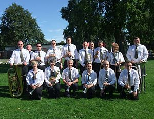 Chalgrove - Members of Chalgrove Band in 2011
