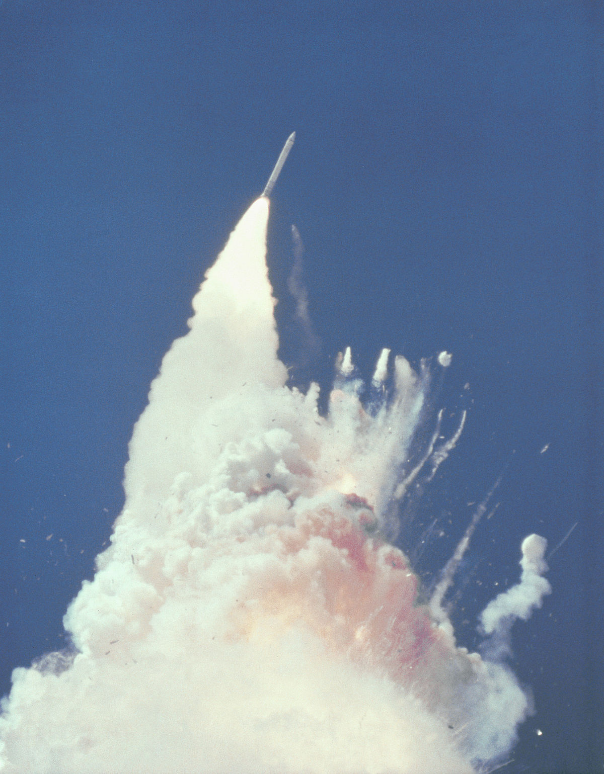 Space Shuttle Challenger Disaster Simple English