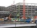Chantier de construction du nouveau siège de la MEL (Métropole européenne de Lille) janvier 2019 b 02.jpg