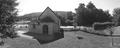 Chapelle Notre-Dame-de-l'Orme - panoramique noir et blanc.PNG