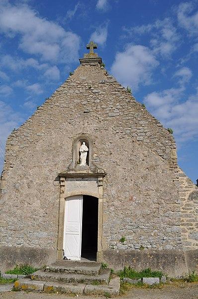 """Chapelle des Marins"" in Gatteville-le-Phare, Manche (50), France"