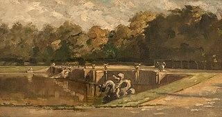 Neptun's Pool in Versailles