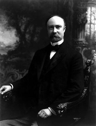 Charles W. Fairbanks - Fairbanks in his office