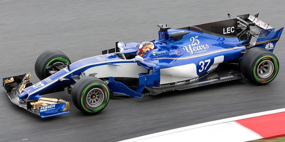 Charles Leclerc 2017 Malaysia FP1