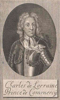 Charles, Prince of Commercy Prince de Commercy, Count de Rosnay