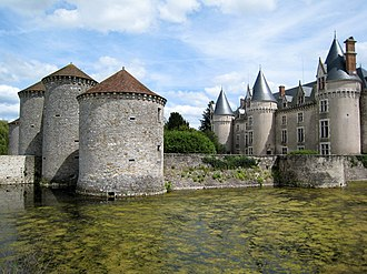 Bourg-Archambault - The Chateau of Bourg-Archambault