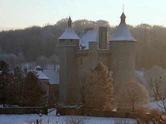 Creuse - Image: Chateau De Villemonteix