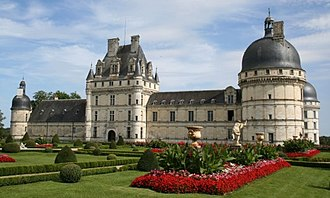 Treaty of Valençay - Chateau de Valençay.