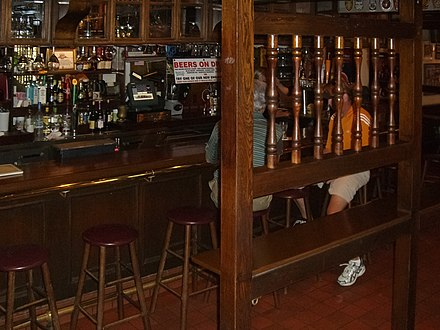 Interior of the bar. Cheers Beacon Hill interior 2.jpg