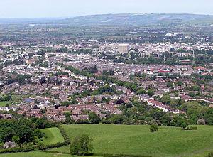 Cheltenham - Cheltenham from Leckhampton Hill