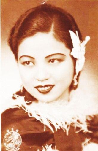 Runje Shaw - Shaw's wife Chen Yumei