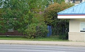 Alexander Chene House - Image: Chene House Detroit MI DEMOLISHED
