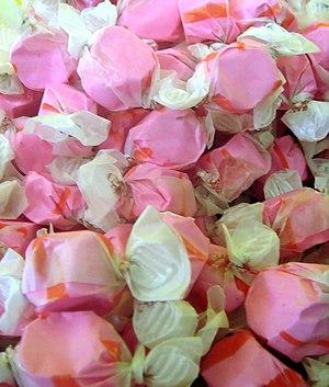 Taffy (candy) - Image: Cherry Taffy