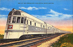 Chicago Burlington and Quincy Denver Zephyr Silver King.JPG