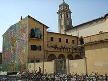 Murale Tuttomondo a Pisa.