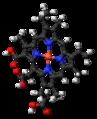 Chlorophyllin 3D ball.png