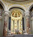 Choeur de l'église Saint-Yves-des-Bretons de Rome.JPG