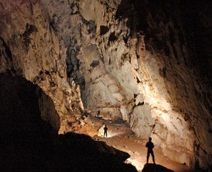 Muang Xay - Chom Ong Cave, ceiling height 35 m