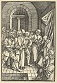 Christ before Annas, from Speculum passionis domini nostri Ihesu Christi MET DP848955.jpg