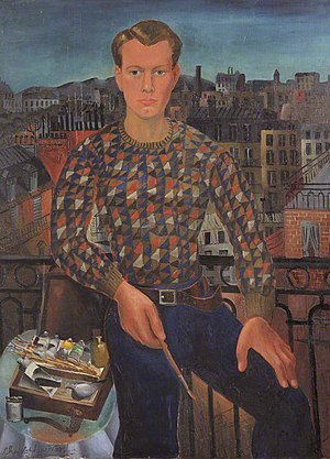 Christopher Wood (painter) - Self portrait (1927), in the permanent collection of Kettle's Yard, Cambridge, England