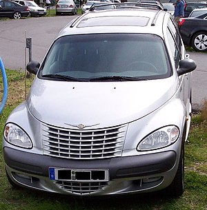 Chrysler PT Cruiser silver f