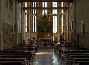 Sant'Elena, Venice - Image: Church Sant'Elena (Venice) Interior