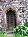 Church door, St Dogmael's - geograph.org.uk - 1456016.jpg