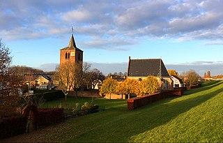 Gendt Town in Gelderland, Netherlands