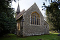 Church of St Mary and St Christopher, Panfield - chancel east side.jpg