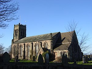 Melling, Merseyside - Image: Church of St Thomas and the Holy Rood, Melling geograph.org.uk 105386