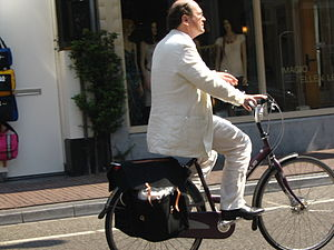 English: Antipodes cyclist