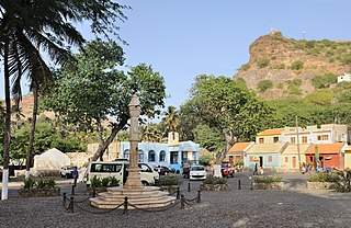 Cidade Velha Settlement in Santiago, Cape Verde