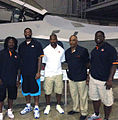 Cincinnati Bengals players, August 2012.JPG