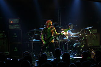 Screamo - Circle Takes the Square, whose style borders on grindcore and post-rock, gained considerable acclaim with the 2004 album As the Roots Undo.
