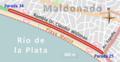 Circuito en la Rambla Dr. Claudio Williman. Competencia organizada por el Club Ciclista Defensor (2015).png