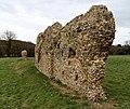 Cistercian Tilty Abbey - remains of east wall of the range.jpg
