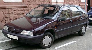 Citroën ZX Motor vehicle