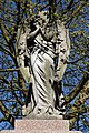 City of London Cemetery angel sculpture grave monument 1.jpg