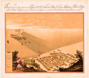 Ciudad de Veracruz y San Juán de Ulúa en 1615 - Veracruz, Veracruz. México