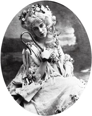 Clara Dow - Clara Dow as Phyllis in Iolanthe c. 1908